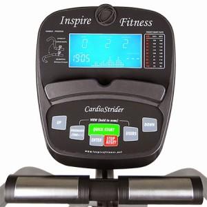 Inspire Cardio Strider console